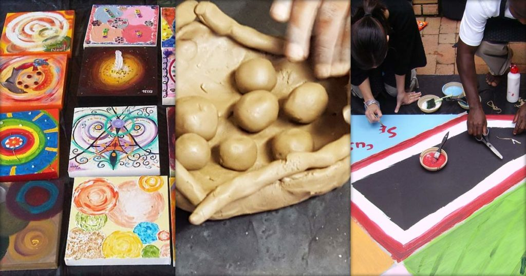 Art Therapy Creative Workshops for Corporates