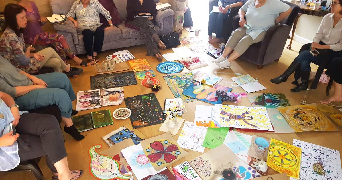 Art Therapy: Thoughts About Conscious Endings
